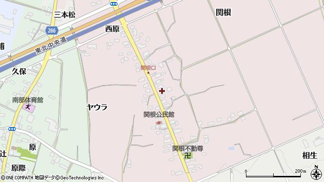 山形県上山市関根33周辺の地図
