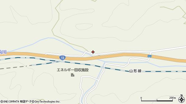 山形県上山市川口中屋敷1181周辺の地図