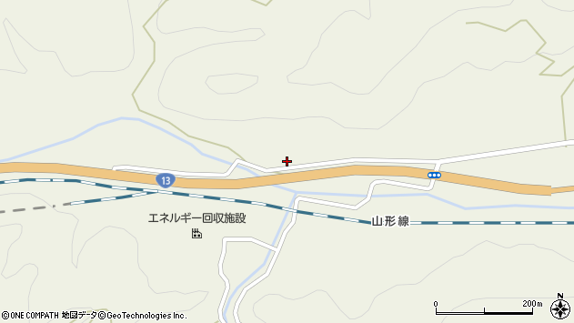 山形県上山市川口1188周辺の地図