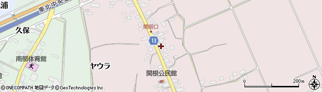 山形県上山市関根32周辺の地図