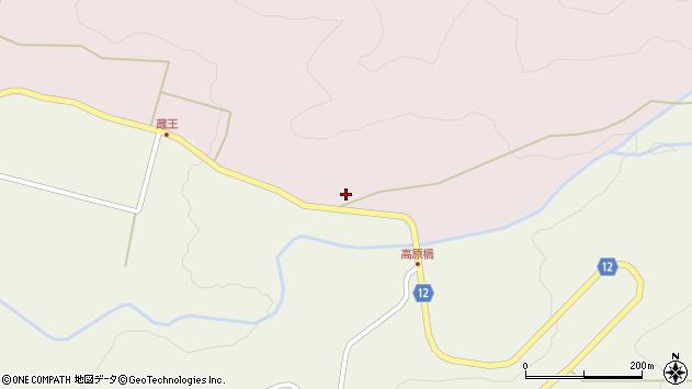 山形県上山市永野カタカリ1781周辺の地図