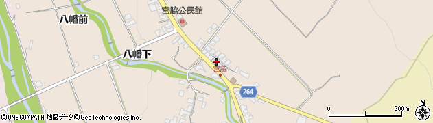 山形県上山市宮脇向田109周辺の地図