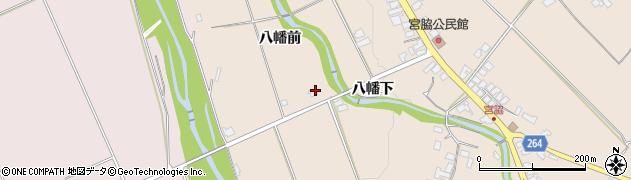 山形県上山市宮脇白山裏714周辺の地図