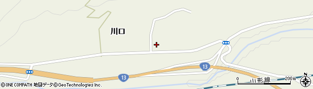 山形県上山市川口19周辺の地図