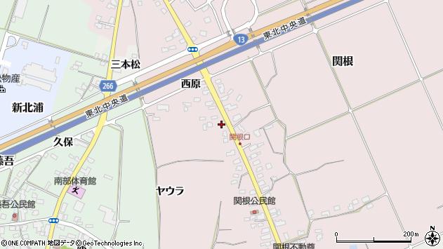 山形県上山市関根22周辺の地図