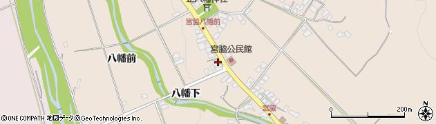 山形県上山市宮脇78周辺の地図