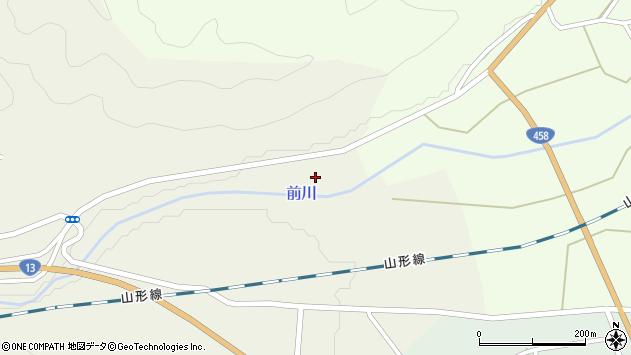 山形県上山市川口下河原201周辺の地図