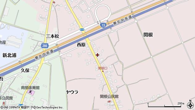 山形県上山市関根25周辺の地図