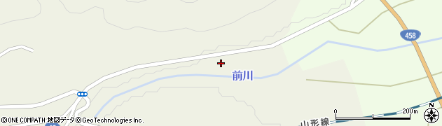 山形県上山市川口下河原192周辺の地図