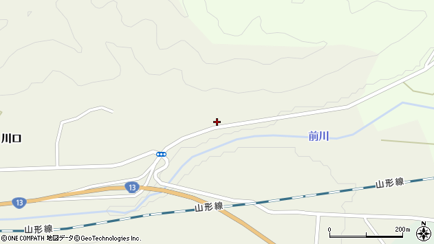 山形県上山市川口1481周辺の地図