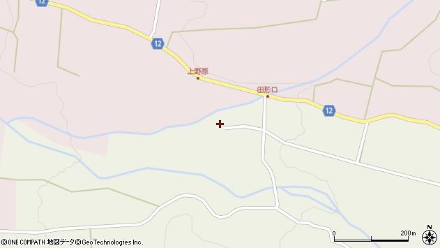 山形県上山市蔵王2540周辺の地図