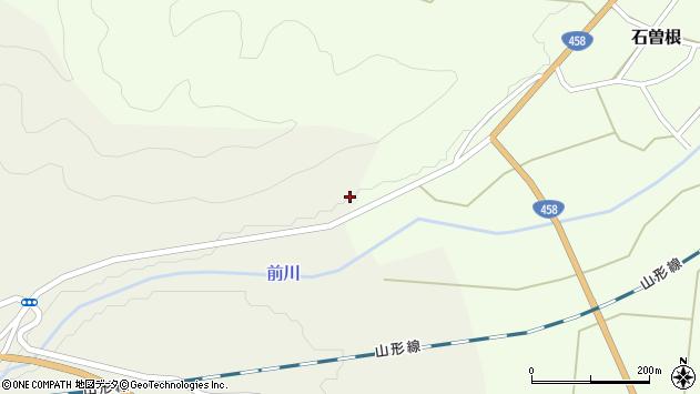 山形県上山市石曽根日向1219周辺の地図