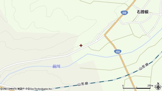 山形県上山市石曽根日向1228周辺の地図