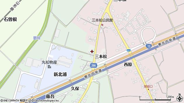 山形県上山市藤吾小橋381周辺の地図