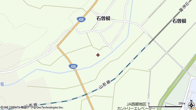 山形県上山市石曽根村頭周辺の地図