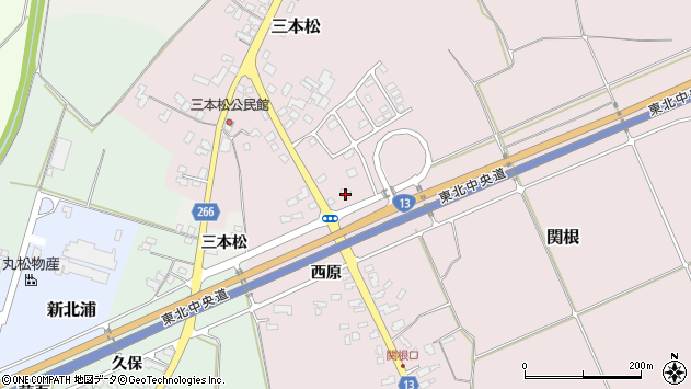 山形県上山市関根830周辺の地図