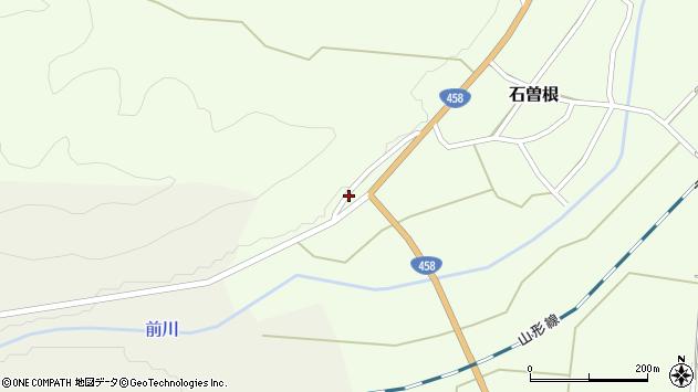 山形県上山市石曽根1343周辺の地図