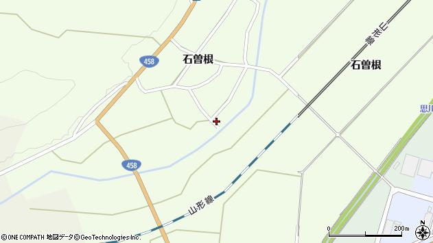 山形県上山市石曽根河原前137周辺の地図