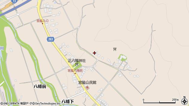 山形県上山市宮脇260周辺の地図