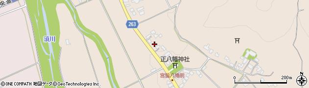 山形県上山市宮脇46周辺の地図
