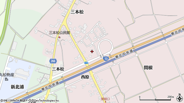 山形県上山市関根212周辺の地図
