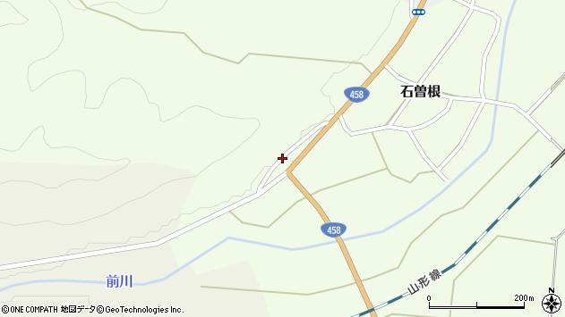 山形県上山市石曽根1330周辺の地図
