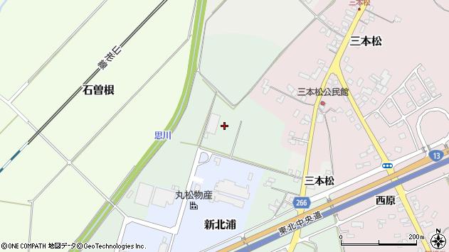 山形県上山市藤吾中道周辺の地図