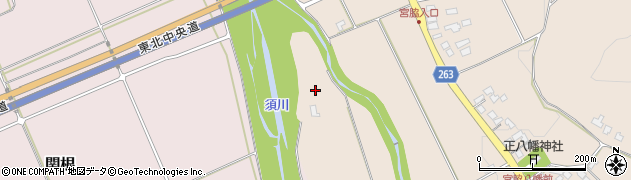 山形県上山市宮脇815周辺の地図