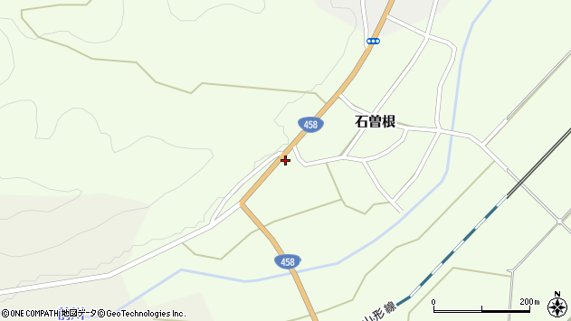 山形県上山市石曽根1352周辺の地図