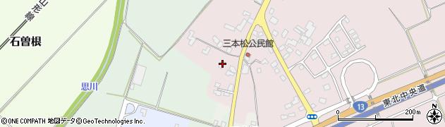 山形県上山市三本松70周辺の地図