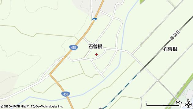山形県上山市石曽根18周辺の地図