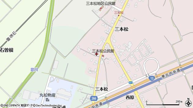 山形県上山市三本松1006周辺の地図