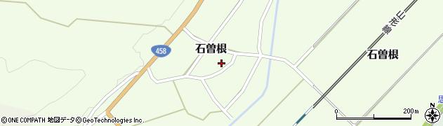 山形県上山市石曽根23周辺の地図