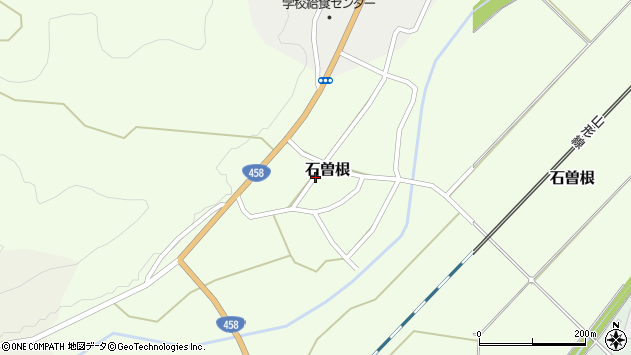 山形県上山市石曽根32周辺の地図