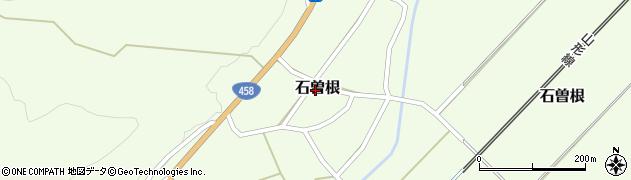 山形県上山市石曽根24周辺の地図
