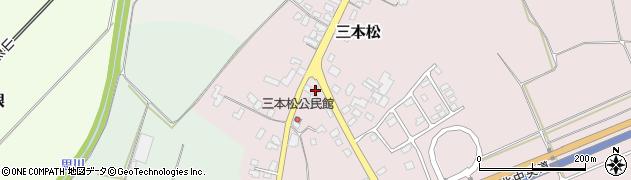 山形県上山市三本松543周辺の地図
