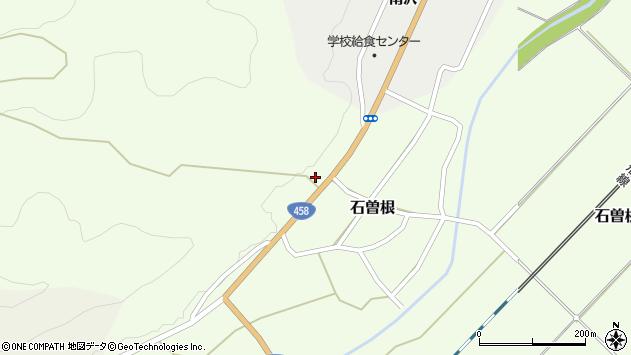 山形県上山市石曽根1368周辺の地図