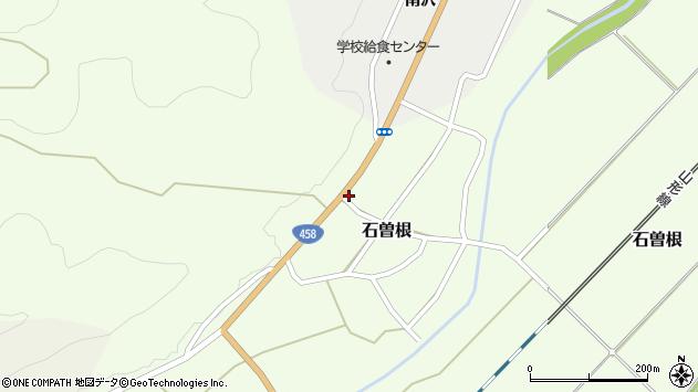 山形県上山市石曽根28周辺の地図