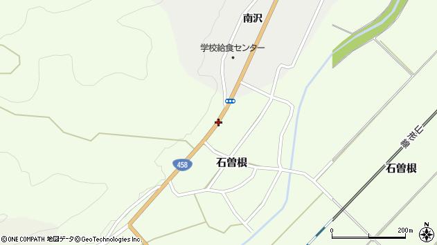 山形県上山市石曽根外畑周辺の地図