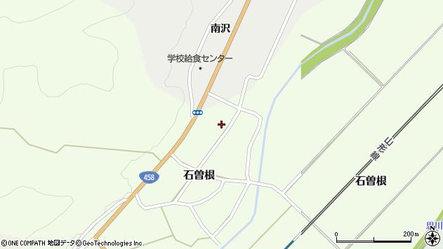 山形県上山市石曽根49周辺の地図