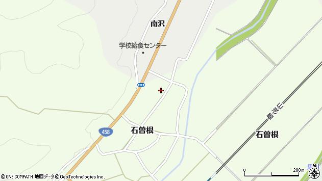 山形県上山市石曽根54周辺の地図