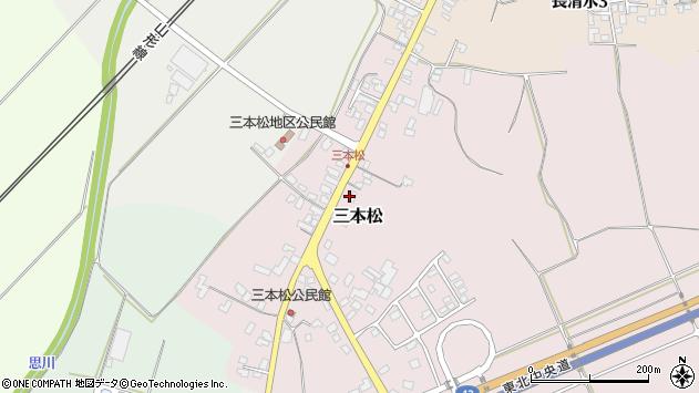 山形県上山市三本松914周辺の地図