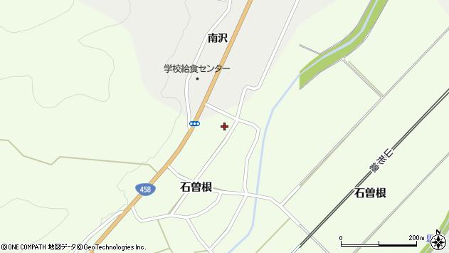 山形県上山市石曽根57周辺の地図