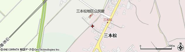 山形県上山市三本松73周辺の地図