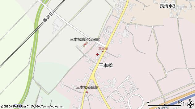 山形県上山市三本松65周辺の地図