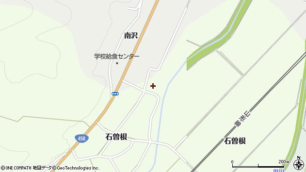 山形県上山市石曽根65周辺の地図
