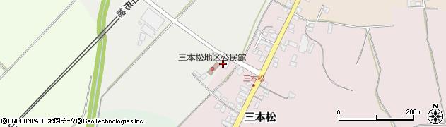 山形県上山市三本松2104周辺の地図