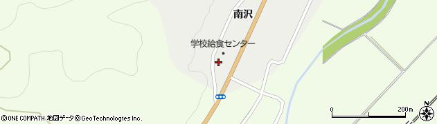 山形県上山市高松南谷地1223周辺の地図