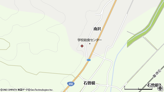 山形県上山市高松南沢1238周辺の地図