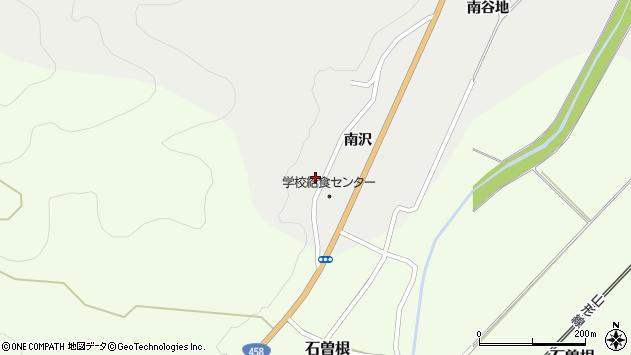 山形県上山市高松南沢1246周辺の地図